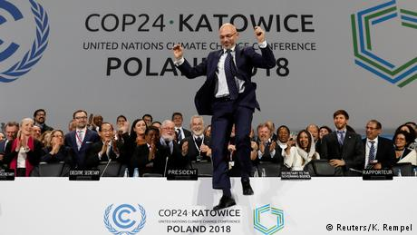 Climate change negotiators agree on Paris Agreement rule book
