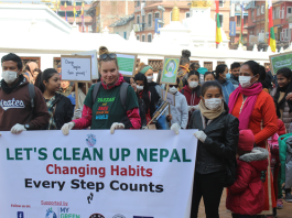 LET'S CLEAN UP NEPAL