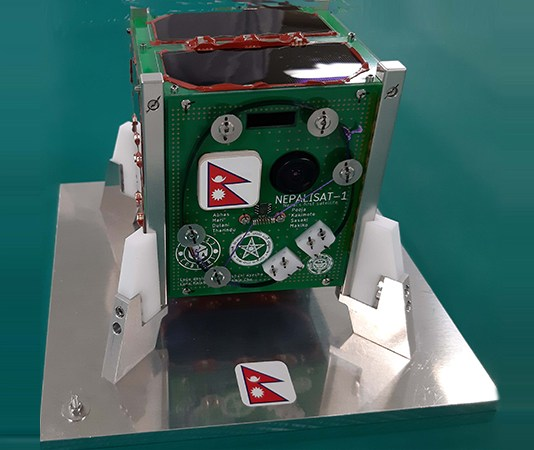Nepal's first nanosatellite