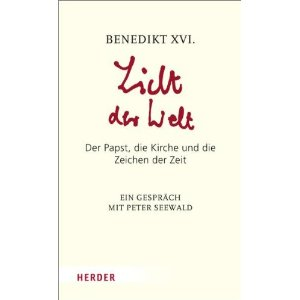Couverture du livre de Benoît XVI et Peter Seewald