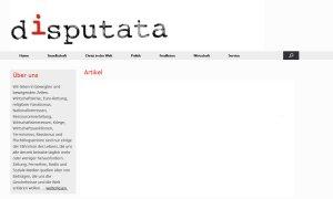 disputata - Startseite