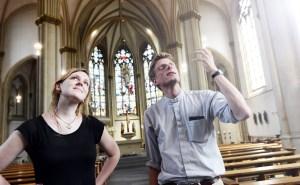 Valerie und der Priester Foto: Michael Bönte Quelle: valerieundderpriester.de / Pressefoto