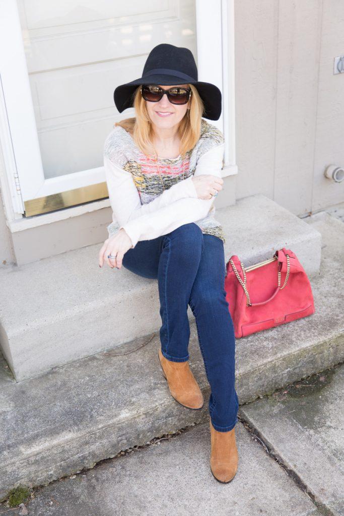 Rainbow Sweater - Kathrine Eldridge, Wardrobe Stylist
