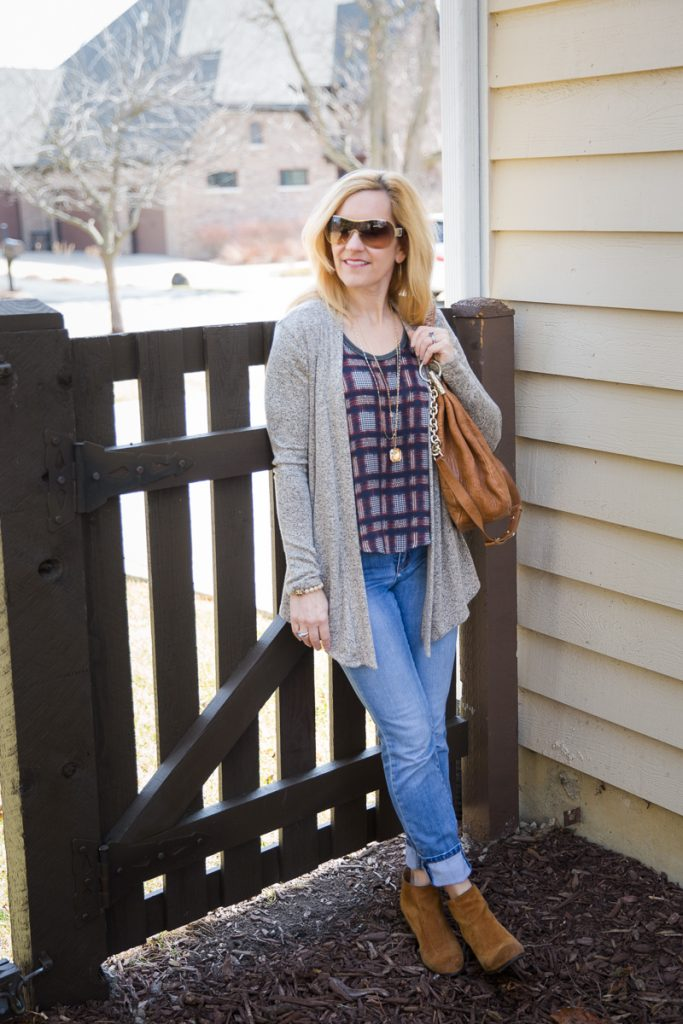 Casual Cool Plaid - Kathrine Eldridge, Wardrobe Stylist