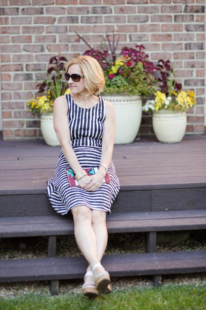 Casual Fit and Flare - Kathrine Eldridge, Wardrobe Stylist