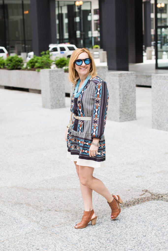 Make Me Chic Boho Dress - Kathrine Eldridge, Wardrobe Stylist
