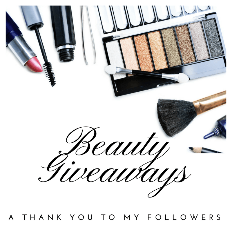 Beauty Giveaways - A Thank You to my Followers