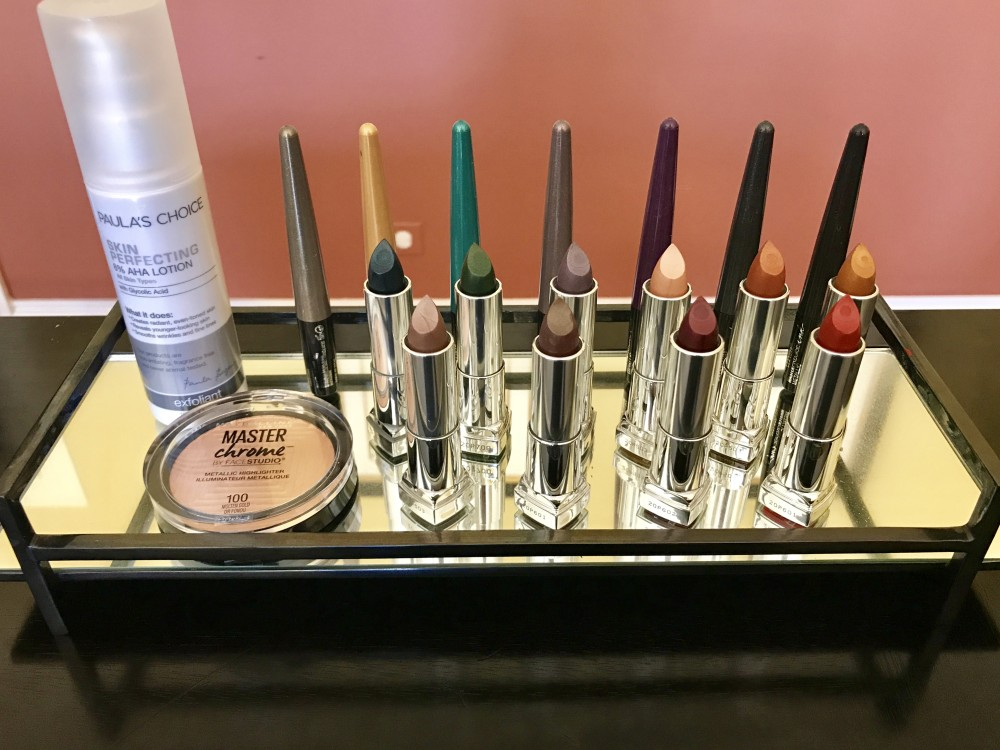 Beauty Giveaway - Maybelline Metallic Lipsticks, Eyeliners, and Highlighter