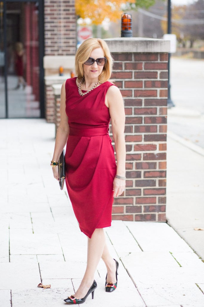 Red Dress for the Holidays