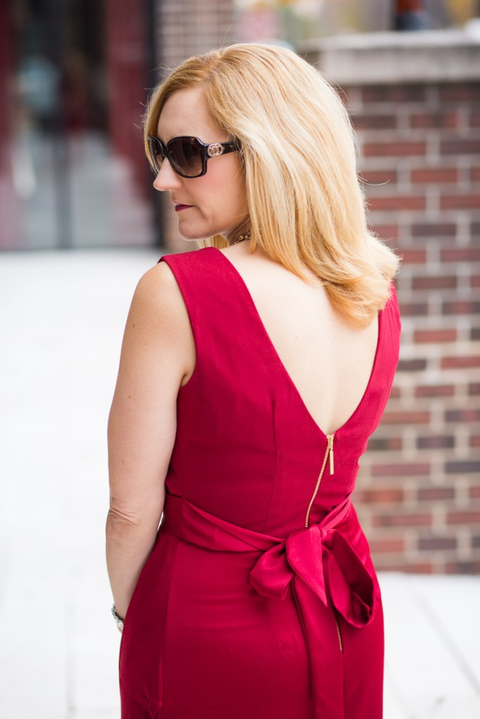 Holiday Red Dress from Closet London