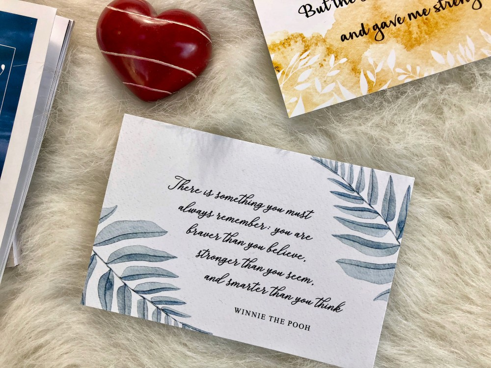 Spring Expectations and Anticipations - Motivational Card from Faithbox