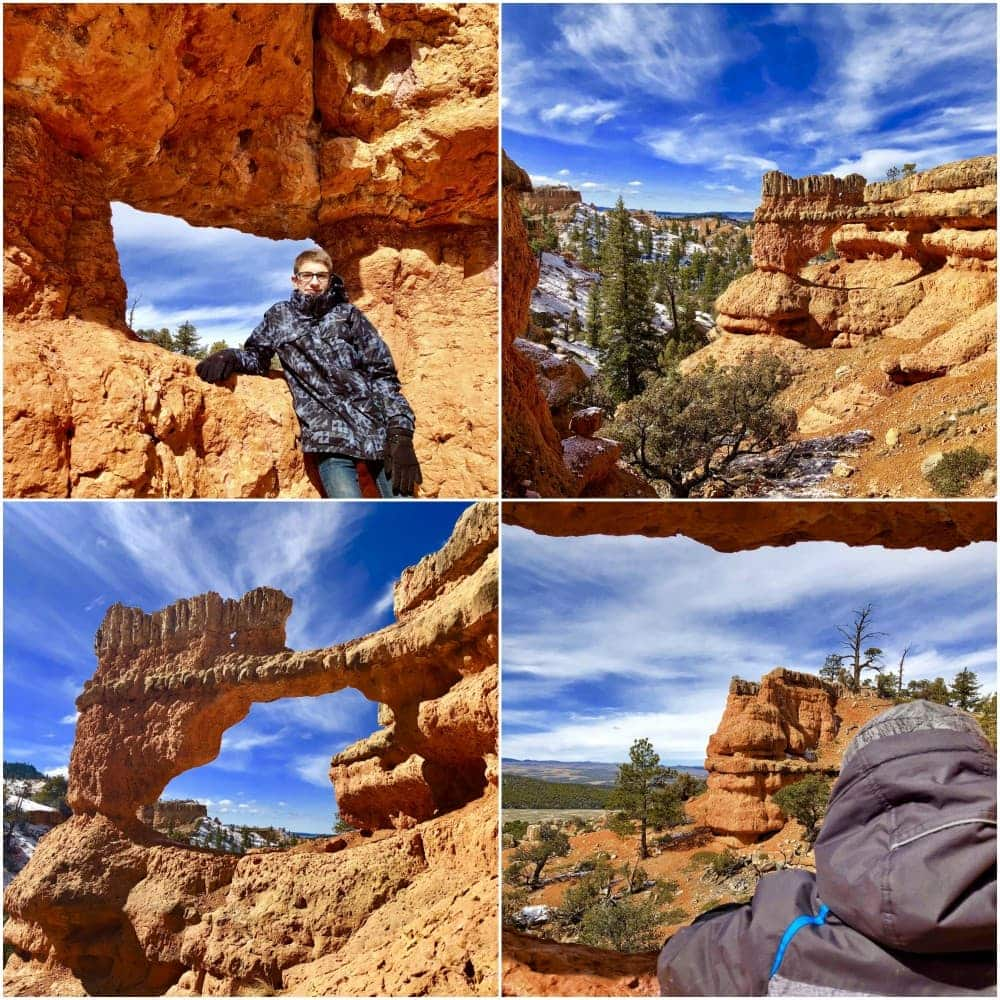 Red Canyon Arches Trail at Bryce Canyon National Park