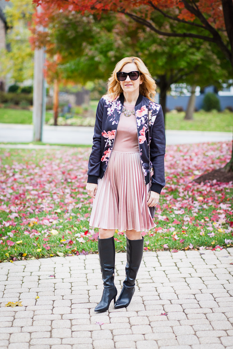 Sharing how to come up with a Thanksgiving outfit from your closet.