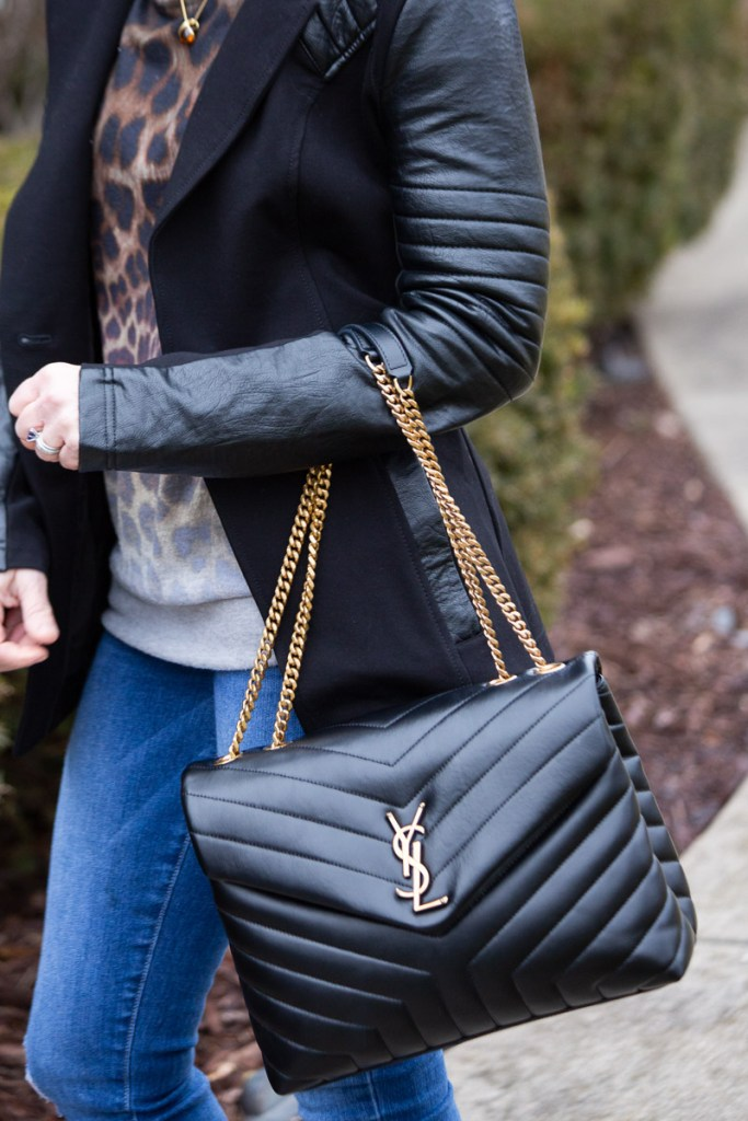 These are a Few of My Favorite Things - YSL Loulou Monogram Medium Quilted Shoulder Bag