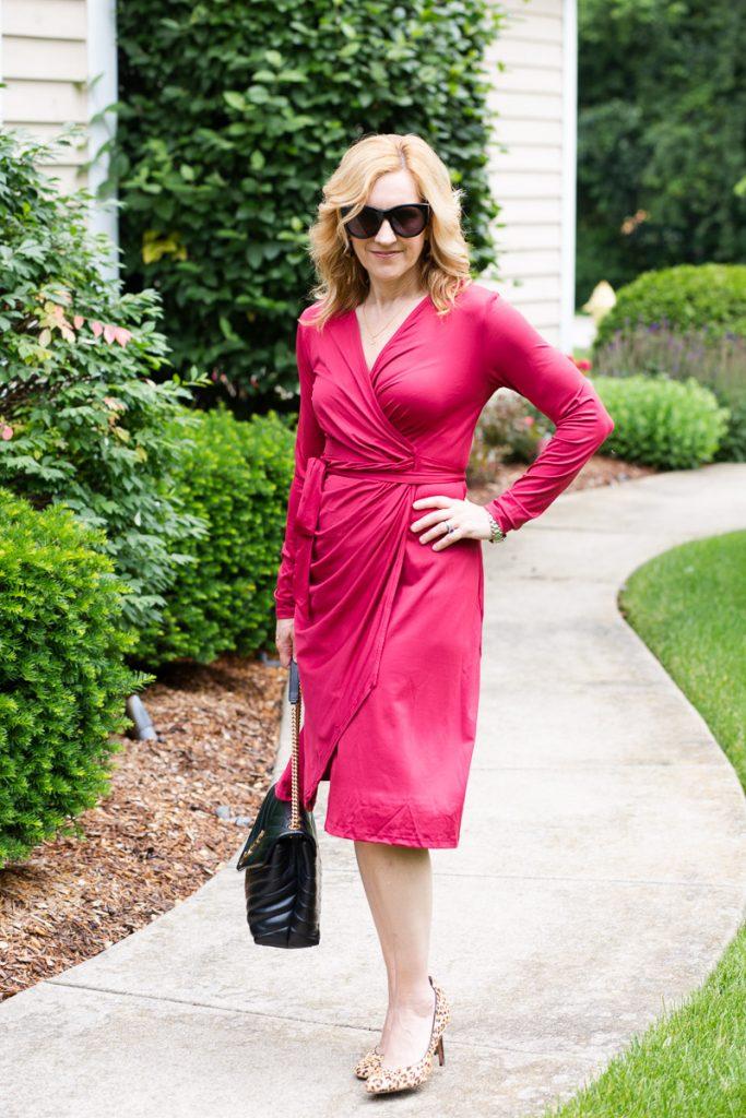 Summer Wrap Dress by Kathrine Eldridge, Wardrobe Stylist