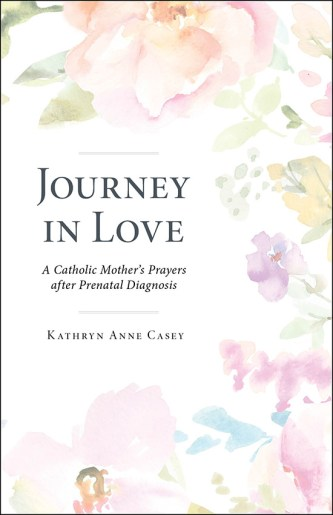 Cover of book Journey in Love: A Catholic Mother's Prayers After Prenatal Diagnosis by Kathryn Anne Casey