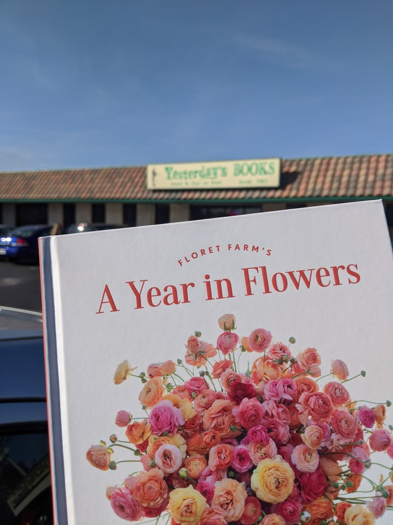 Cover of A Year in Flowers by Erin Benzakein