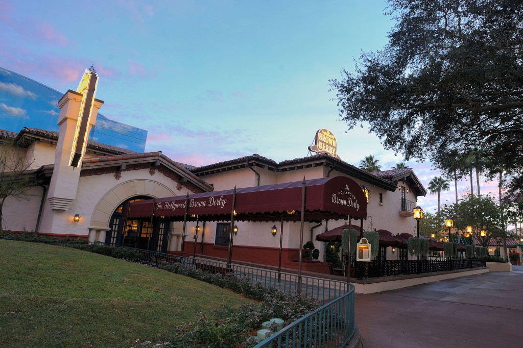 Hello, Hollywood – Dine like a celebrity in the Golden Age of Hollywood at The Hollywood Brown Derby at Disney's Hollywood Studios. This gourmet American cuisine restaurant is an authentic replica of the original Brown Derby that was a longstanding Hollywood landmark. The menu features world-famous Cobb salad, steaks, seafood, pasta specialties and fine international wines. Disney's Hollywood Studios is one of four theme parks at Walt Disney World Resort in Lake Buena Vista, Fla. (Scott Miller, photographer)