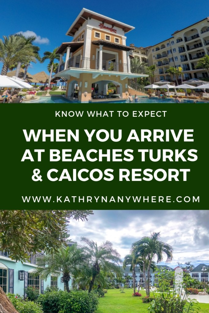 What To Expect When You Arrive at Beaches Turks and Caicos Resort. Here's the low down on what you need to know #beachesresorts #beachesturksandcaicos #beachesresorts #turksandcaicos #allinclusiveturksandcaicos #pls #providenciales #beachesmoms #beachvacations #allinclusivebeachvacations #familyallinclusive #bestallinclusive #familytravelblogger #bestfamilytravleblogger #femaletravelblogger #torontomom