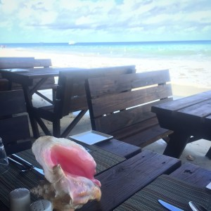 the beach from stewfish at Beaches Resorts