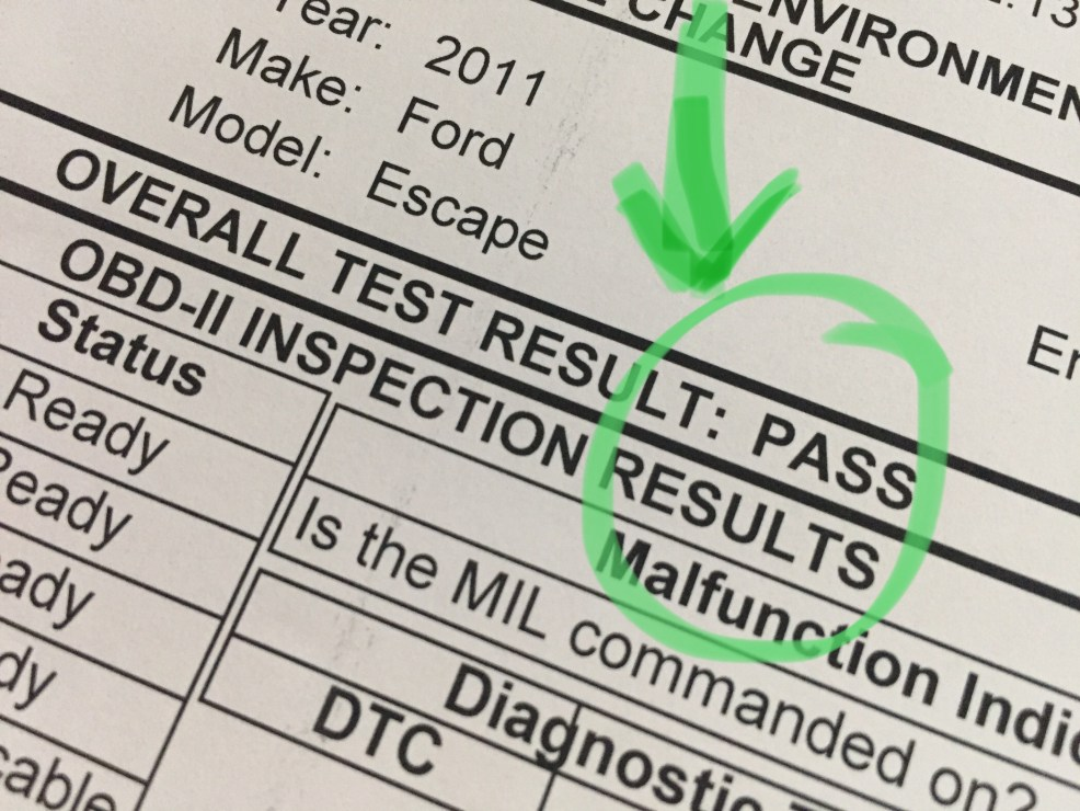 Ontario drive clean test result