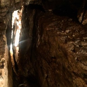 spelunking with kids in cavern