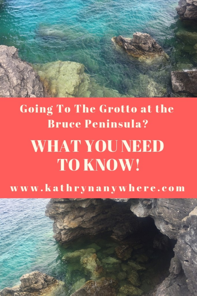 What You Need To Know About Going To The Grotto outside of Tobermory in Bruce Peninsula National Park #grotto #tobermory #brucepeninsula #discoverontario #parkscanada #grotto #brucepeninsulagrotto #tobermorygrotto #hikingthebruce #brucetrail #dangerousplaces #rockyterrain #bestfamilytraveltravelblogger #ontariofamilyadventures