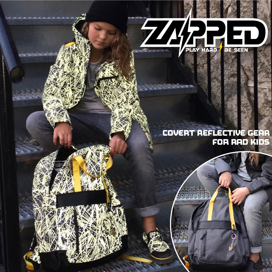 cool jacket and backpack for kids