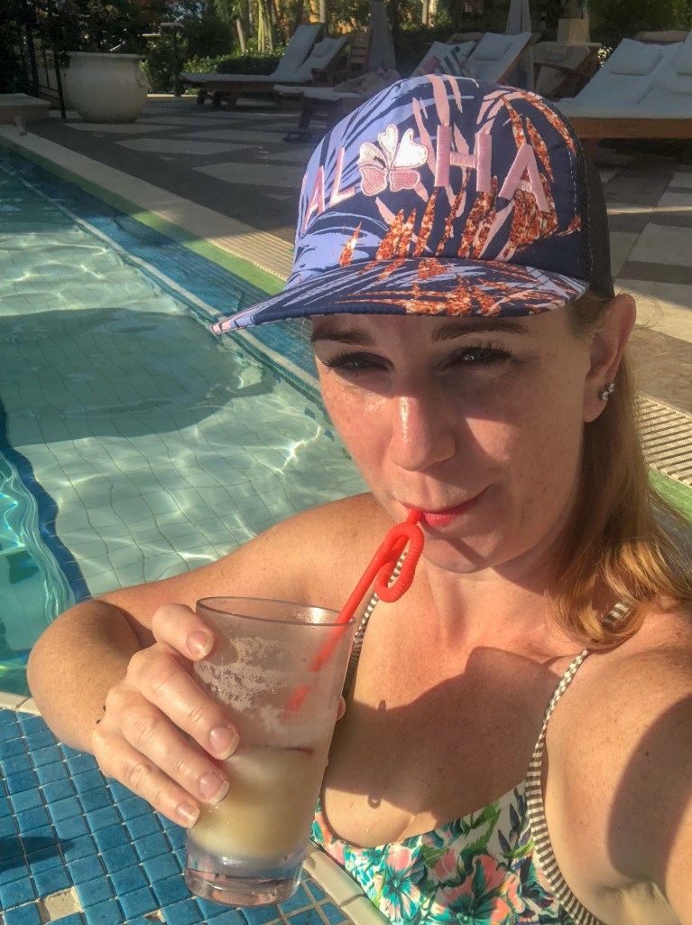 Dining with Hypothyroidism at Beaches Resort in Turks and Caicos #thyroid #thyroidhealth #hypothyroid #hypothyroism #hashimotos #dietaryrestrictions #restaurantsatbeaches #beachesmoms #beachesturksandcaicos #beachesresorts #pinacolada