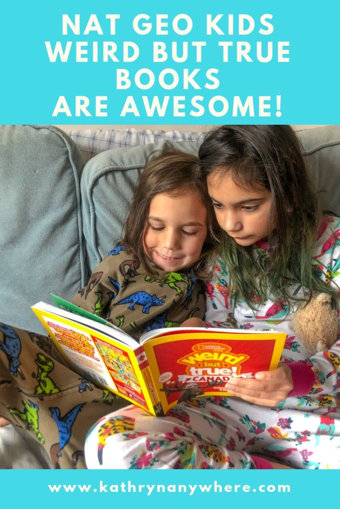 Weird but True Canada Reading #natgeokids #momsmeet #ngkids #weirdbuttrue #bookseries #kidsbooks #funbooksforkids #readeveryday