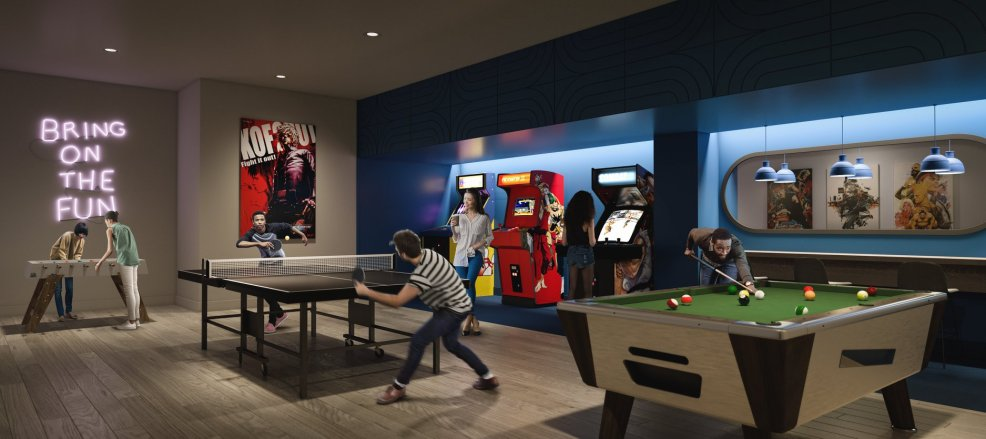 ARTWORKS Tower knows that sometimes to be inspired, you need to let loose...and the Arcade is the perfect spot to do so. This old-school Arcade will bring fun and competition together with ping-pong tables, pool, arcade games and more. Want to join in on the fun? Join the Inner Circle for before-the-public perks and benefits. Learn more here: https://artworkstower.com/inner-circle/