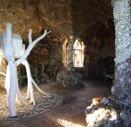 'Inside the Birdhouse' Shell Grotto, Pontypool 2007