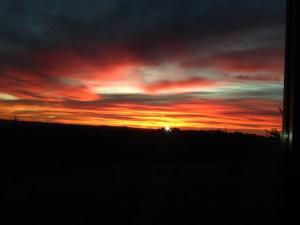 Sunrise over Orange