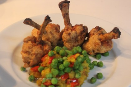 Spiced Chicken Lollipop