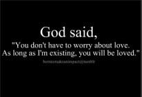 God loves