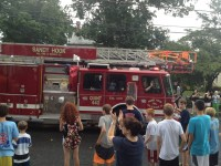 Sandy Hook VFD at Newtown labor day parade