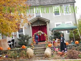 Houses go all out for Halloween in Newtown CT