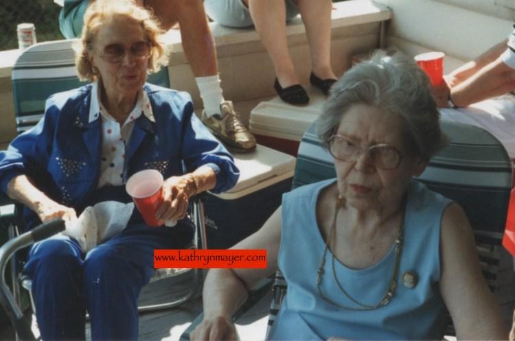 Grandmothers sweating