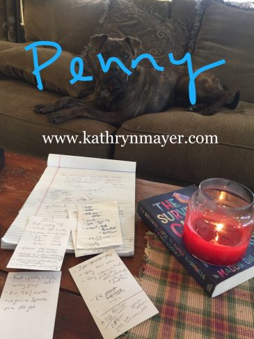 Writing and dog goals for the new year