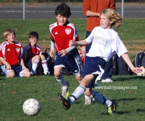 Park 'n rec soccer player