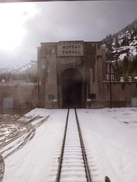 Moffat Tunnel, Colorado - the longest tunnel at 6.2 miles