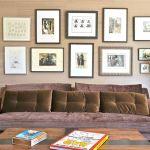 art gallery wall, pucci sofa, interior designer brentwood, ca, malibu interior design
