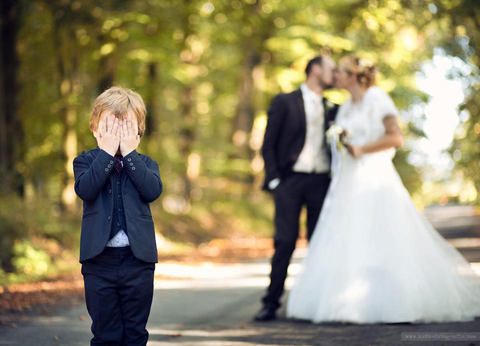 witzige Hochzeitsbilder  Kaths Fotografie
