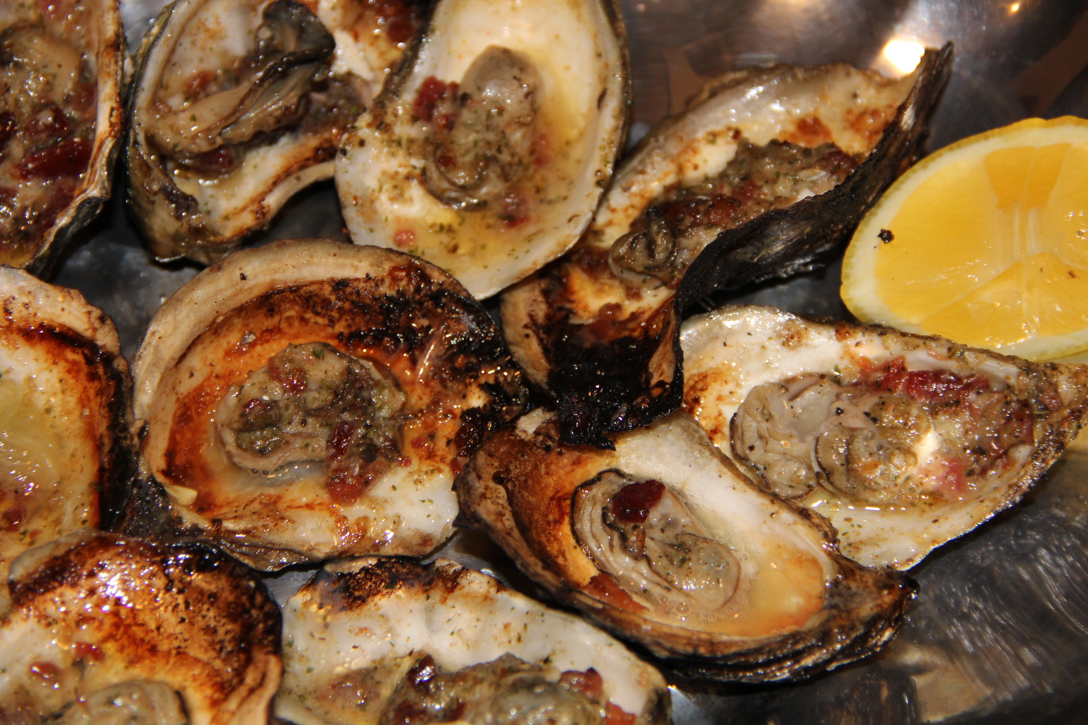 cooked oysters  Kaths Kitchen Sync
