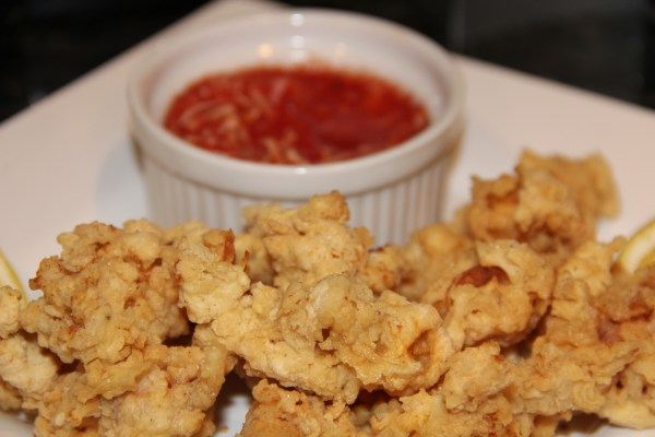 Crispy Fried Calamari Kath39s Kitchen Sync