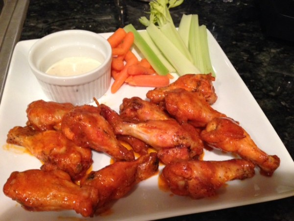Crispy Oven Baked Chicken Wings Kath39s Kitchen Sync