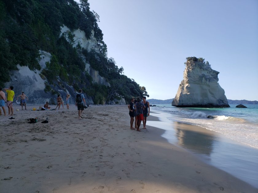 View of Cathedral Bay
