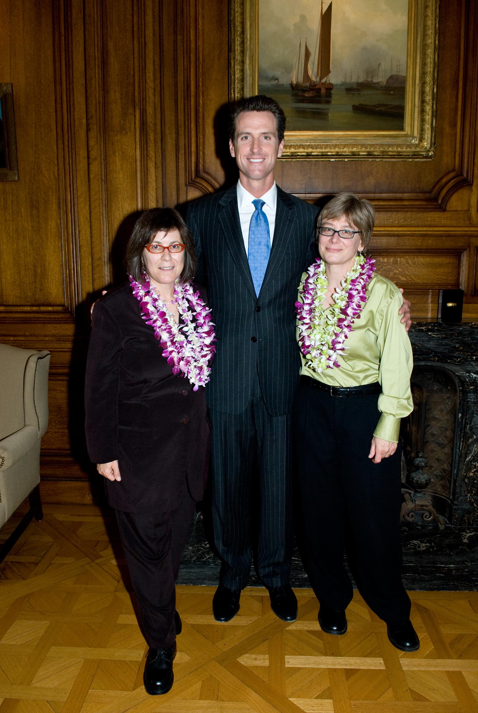 Shelly, Gavin, Kathy