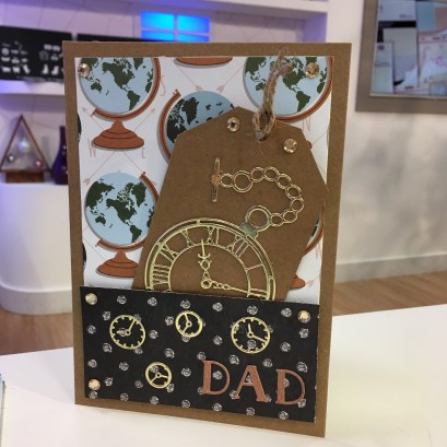 First Edition dies - clocks and alphabet