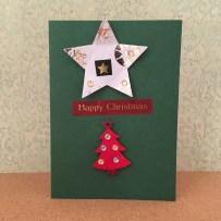 star-christmas-card
